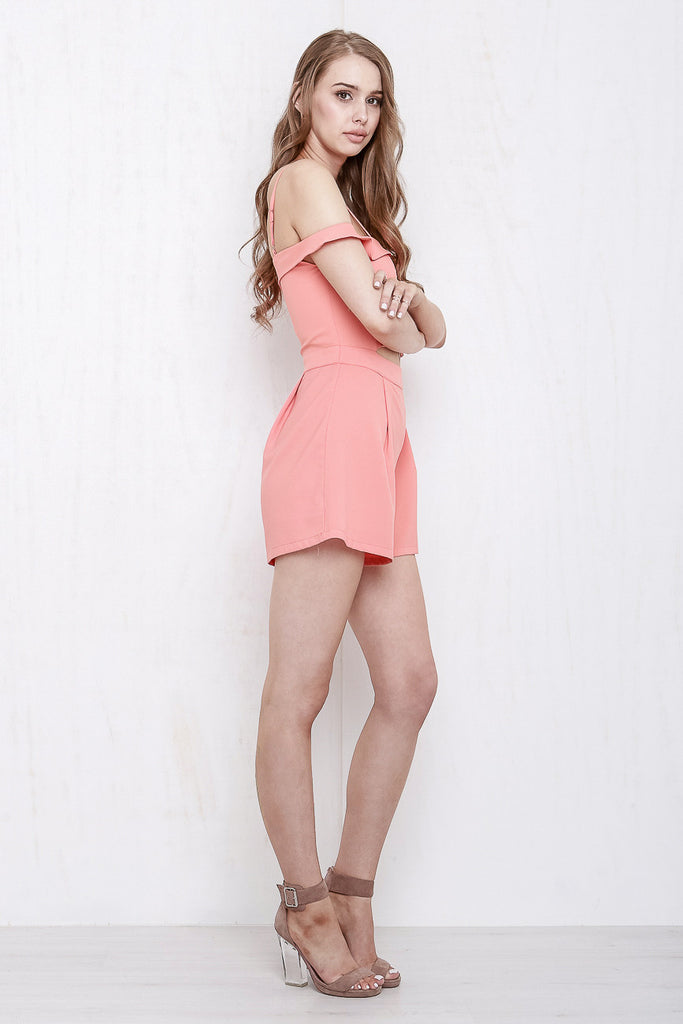California Playsuit Coral - Morrisday | The Label - 5