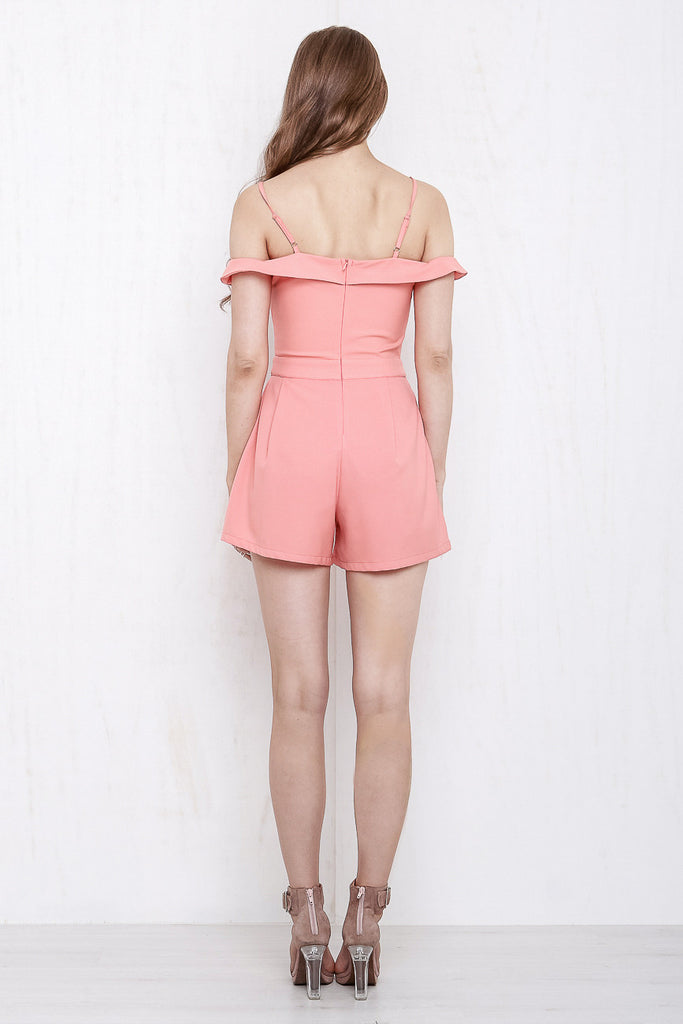 California Playsuit Coral - Morrisday | The Label - 6