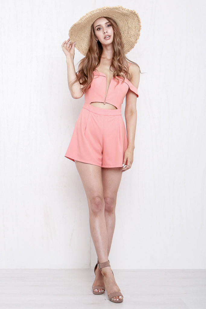 California Playsuit Coral - Morrisday | The Label - 7