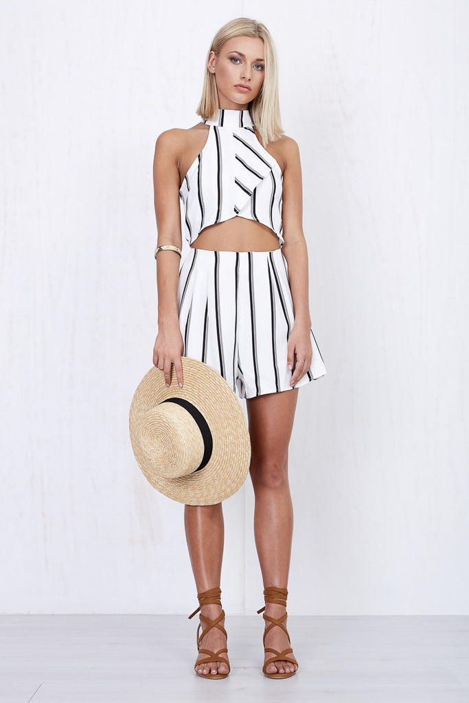 Kendall Stripe Playsuit - Morrisday | The Label - 7