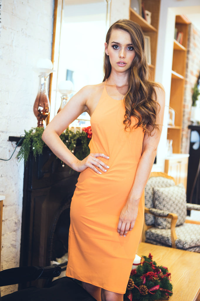 Cross My Heart Dress Tangerine - Morrisday | The Label - 9