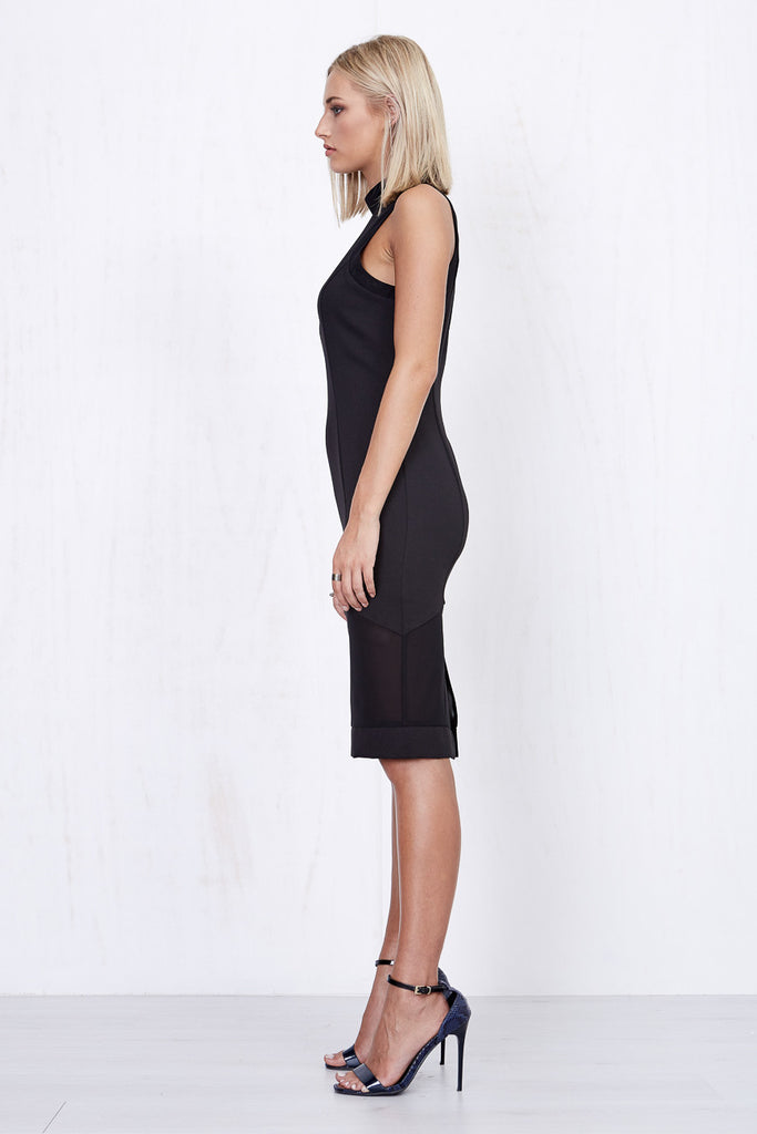 Annabelle Sheer Dress Black - Morrisday | The Label - 3
