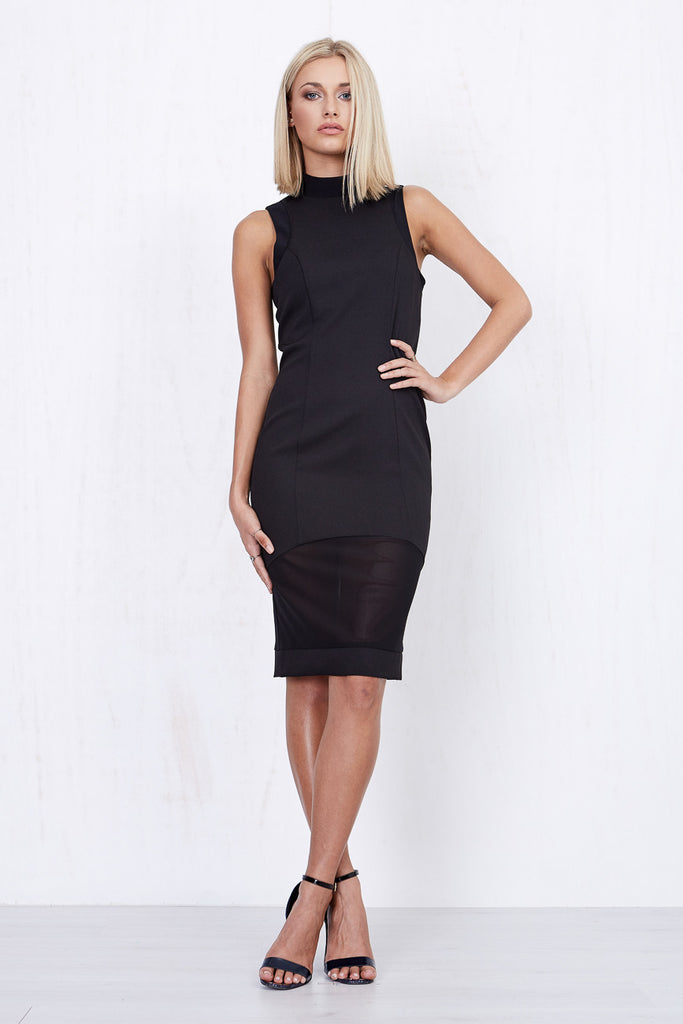Annabelle Sheer Dress Black - Morrisday | The Label - 6