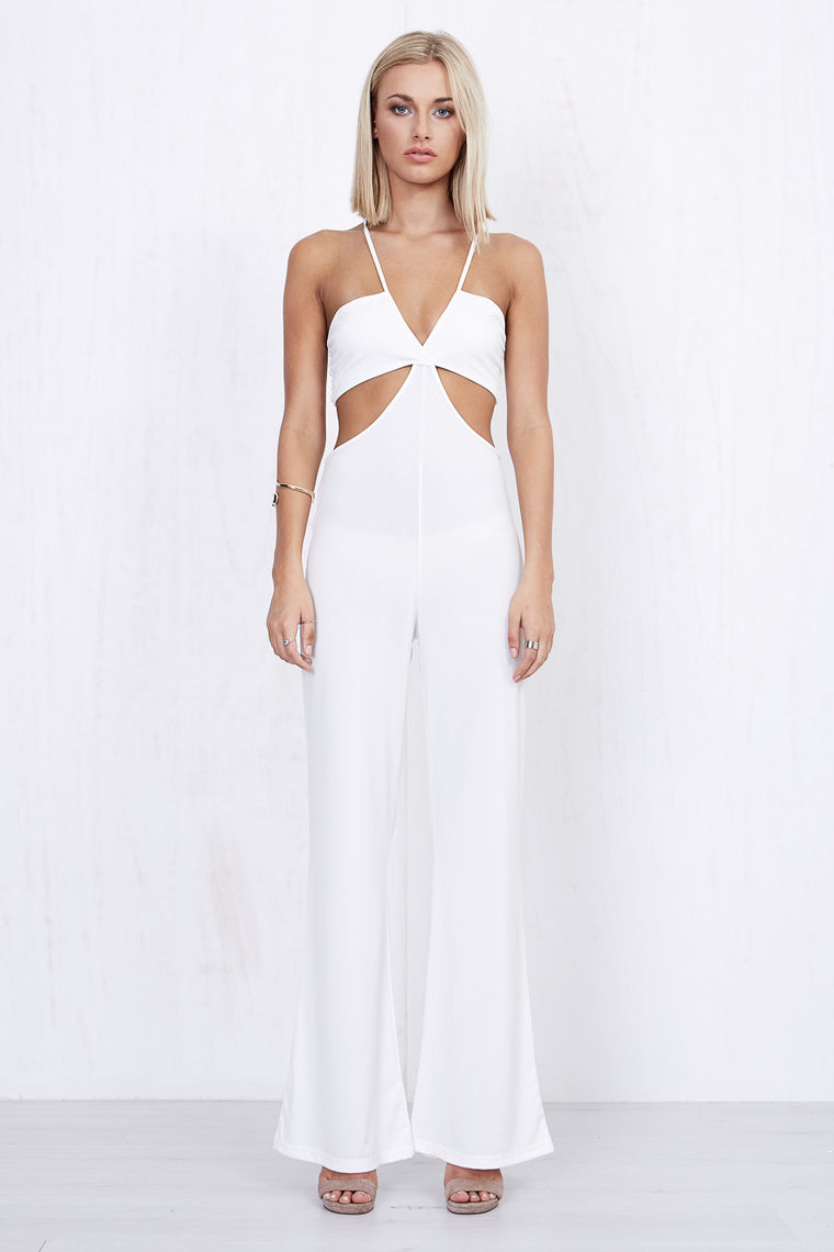 Swift Jumpsuit White - Morrisday | The Label - 1