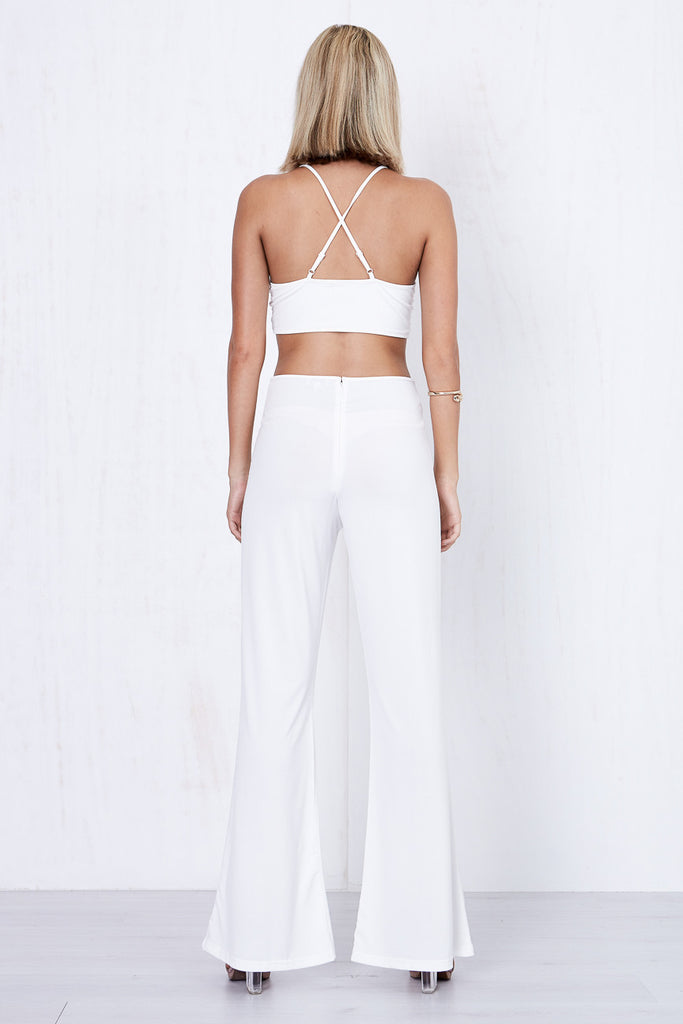 Swift Jumpsuit White - Morrisday | The Label - 5