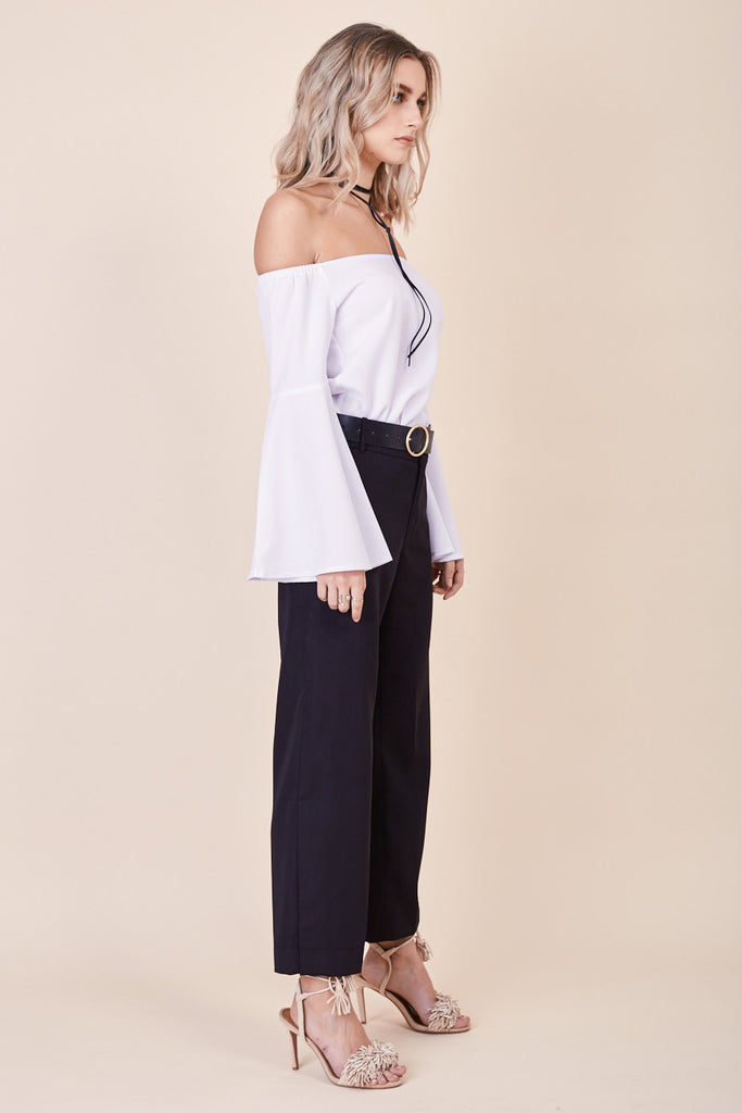 Into The Mirage Top White - Morrisday | The Label - 3