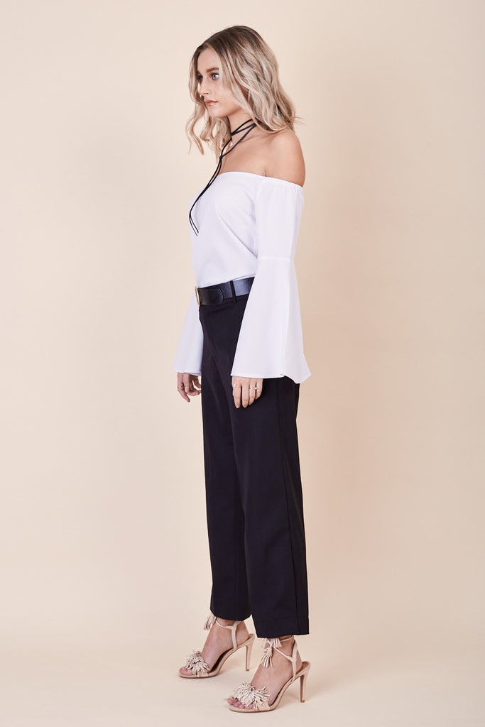 Into The Mirage Top White - Morrisday | The Label - 4