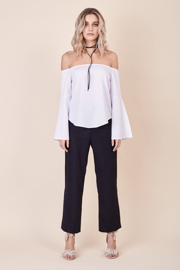 Into The Mirage Top White - Morrisday | The Label - 2