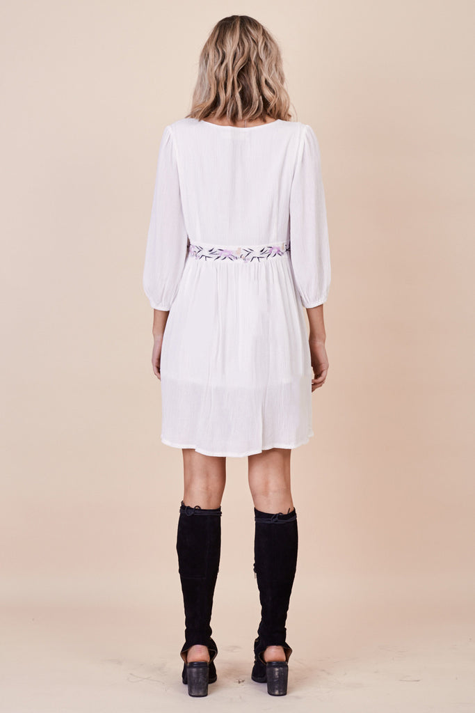Sun Chaser Embroidered Dress White - Morrisday | The Label - 6
