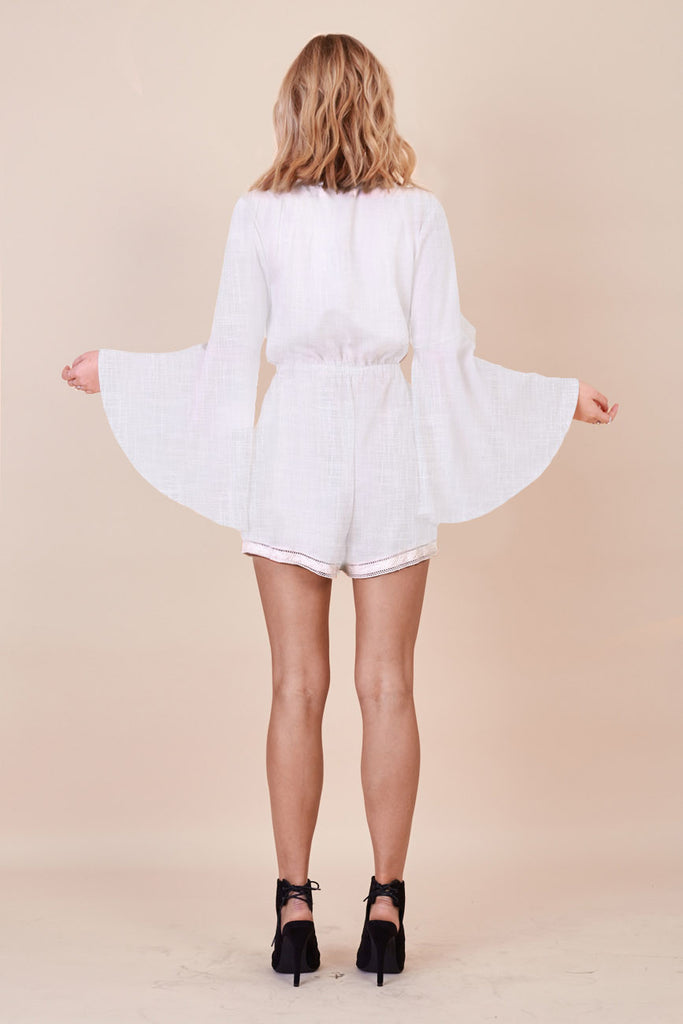 Stevie Bell Sleeve Playsuit - Morrisday | The Label - 2