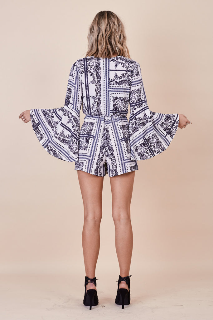 Phoenix Bell Sleeve Playsuit - Morrisday | The Label - 5