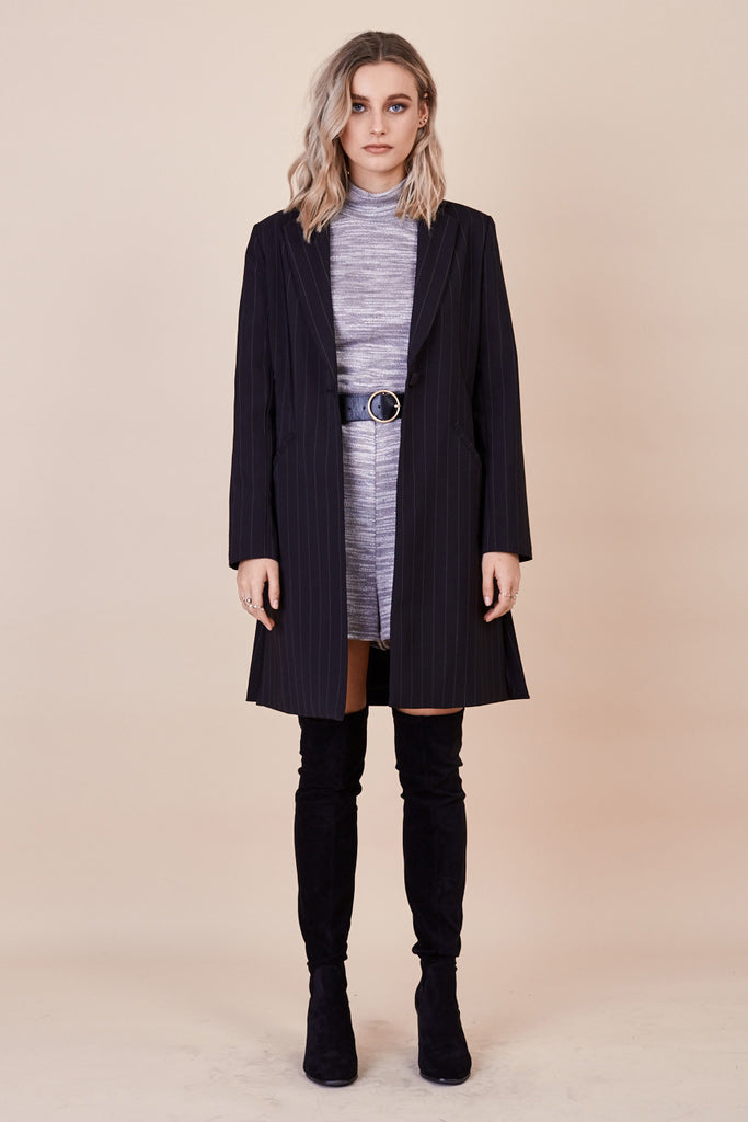 Skyfall Coat Pinstripe - Morrisday | The Label - 2