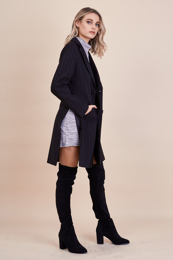 Skyfall Coat Pinstripe - Morrisday | The Label - 3