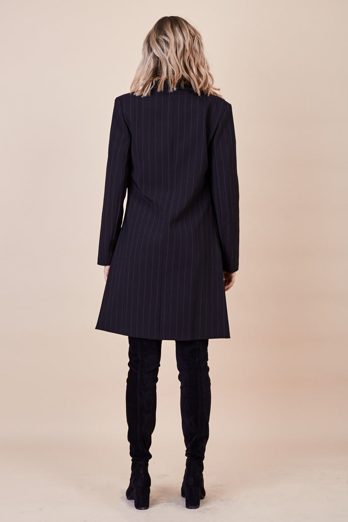Skyfall Coat Pinstripe - Morrisday | The Label - 5