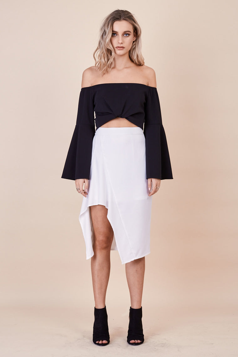 Paradise Skirt White - Morrisday | The Label - 1