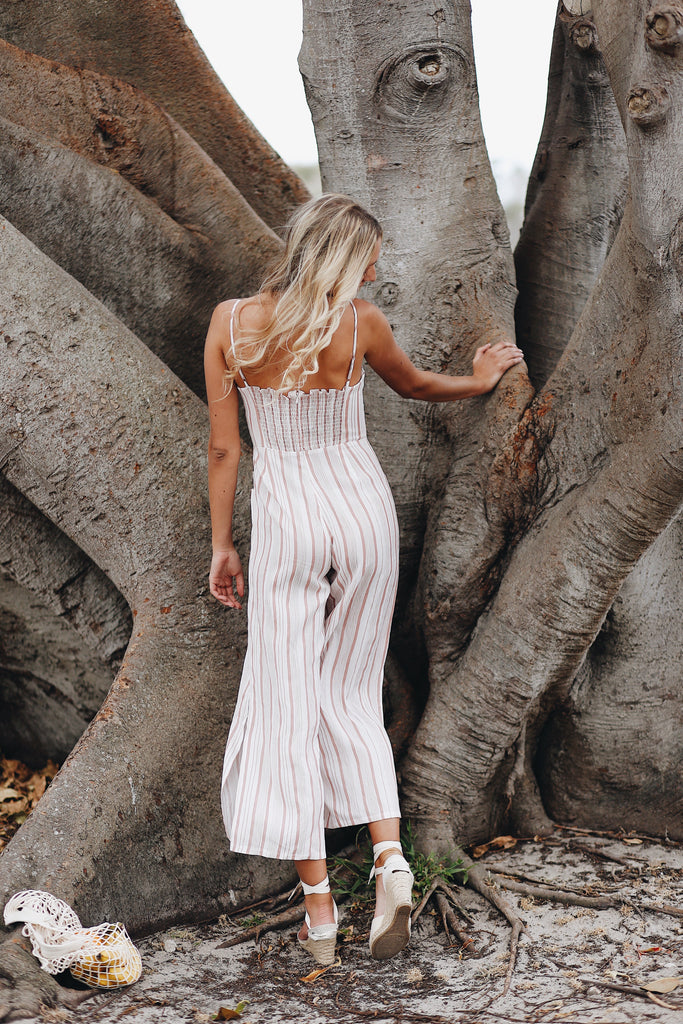 Sunday Stripe Jumpsuit