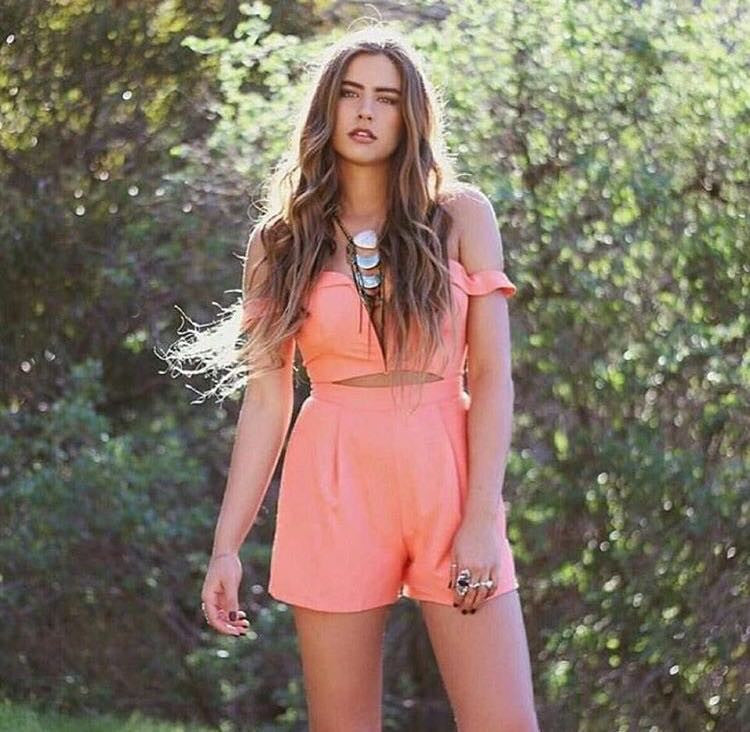 California Playsuit Coral - Morrisday | The Label - 3