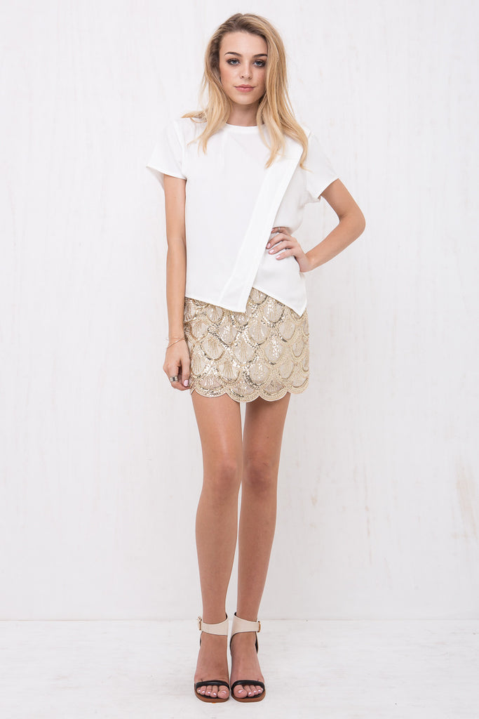 Mermaid Sequin Mini Skirt - Morrisday | The Label - 1