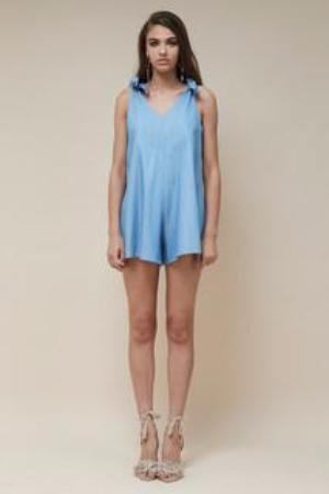 Indigo Playsuit Chambray
