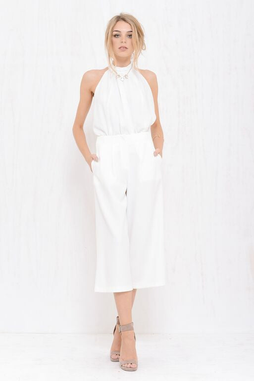 Executive Wide Pant White - Morrisday | The Label - 1