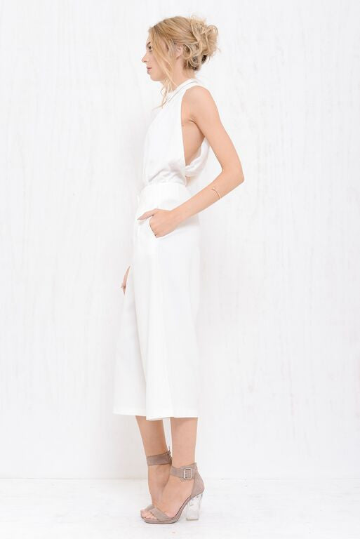 Executive Wide Pant White - Morrisday | The Label - 2
