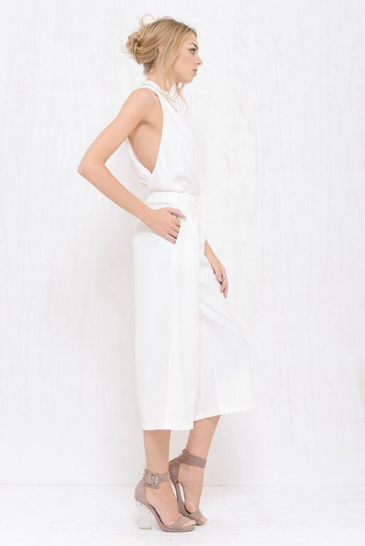 Executive Wide Pant White - Morrisday | The Label - 3