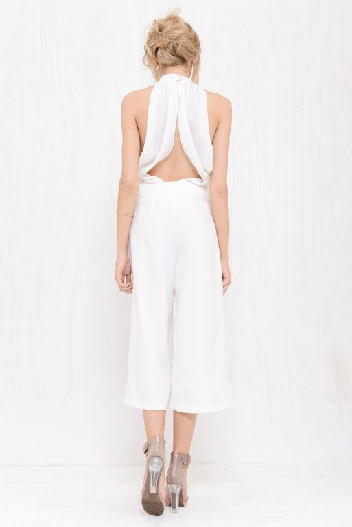 Executive Wide Pant White - Morrisday | The Label - 4
