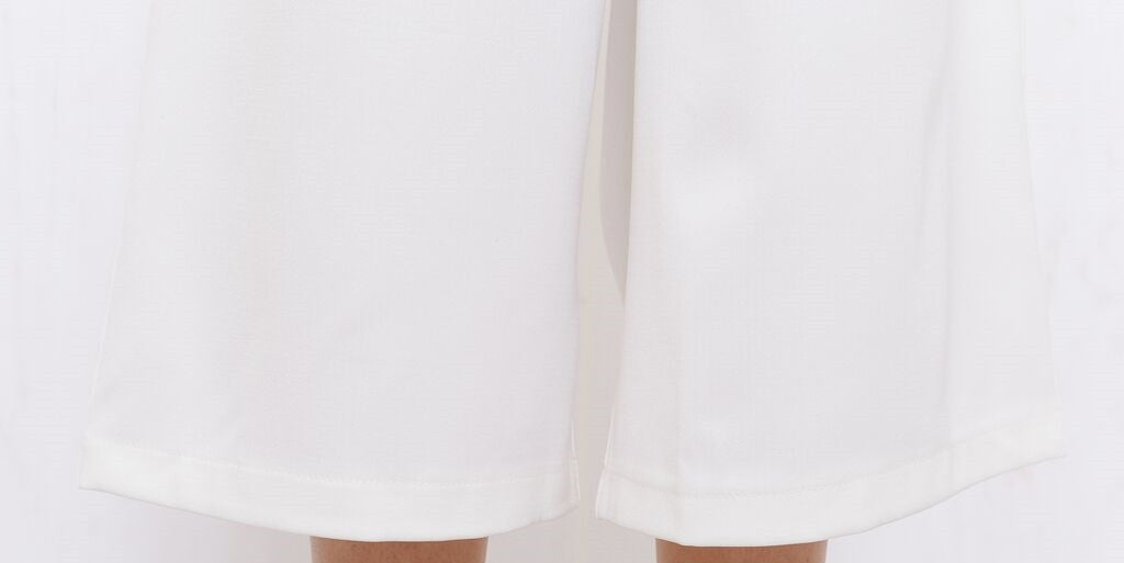 Executive Wide Pant White - Morrisday | The Label - 7