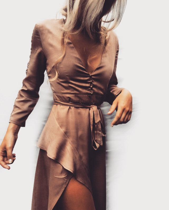 Lovers Lane Dress Mocha - Morrisday | The Label - 9