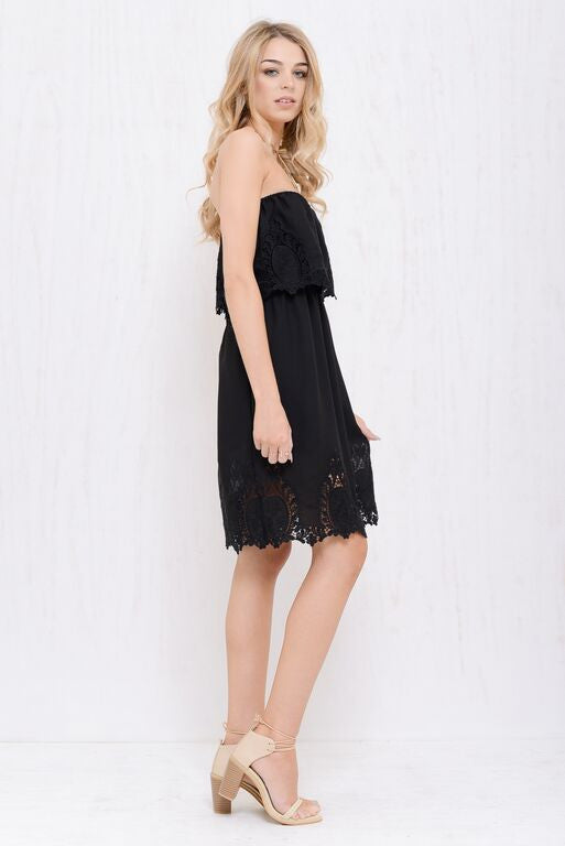Into The Bloom Dress Black - Morrisday | The Label - 3