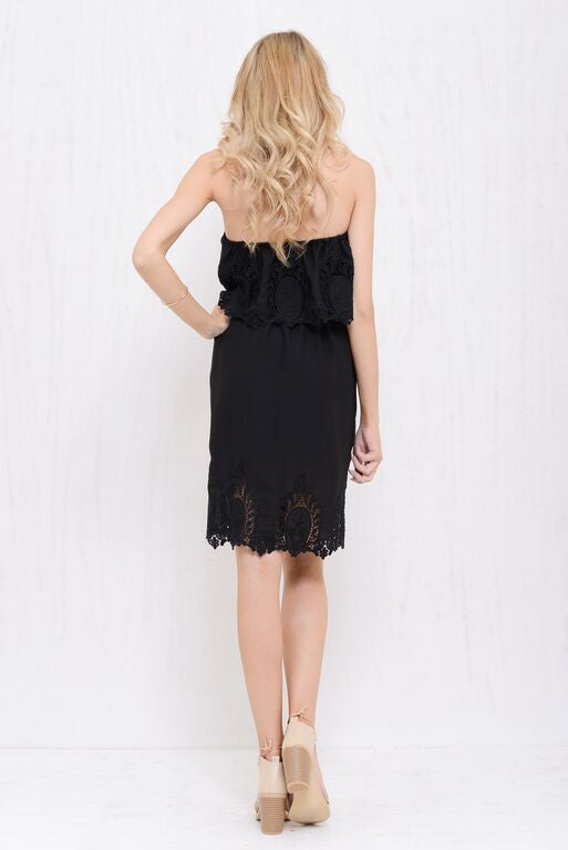 Into The Bloom Dress Black - Morrisday | The Label - 4