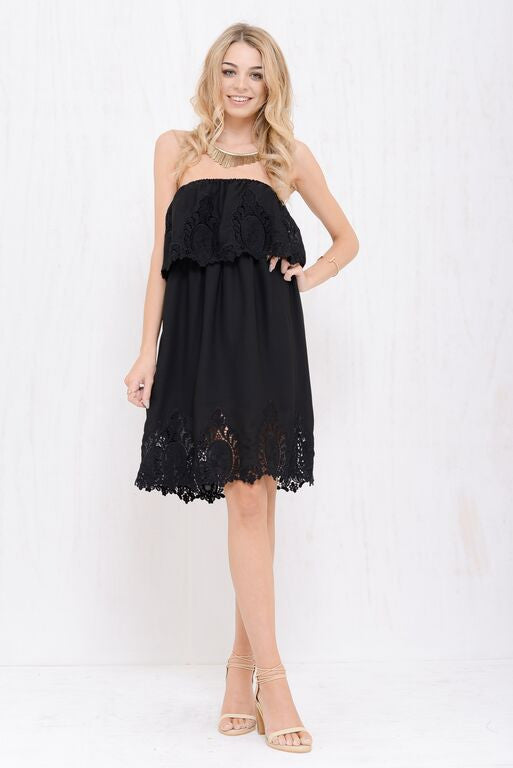 Into The Bloom Dress Black - Morrisday | The Label - 6