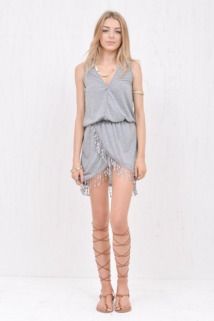 Wanderlust Dress Grey - Morrisday | The Label - 1