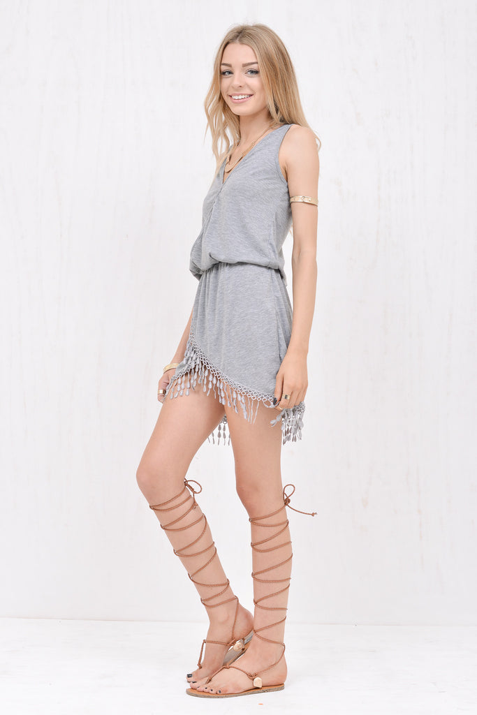 Wanderlust Dress Grey - Morrisday | The Label - 2