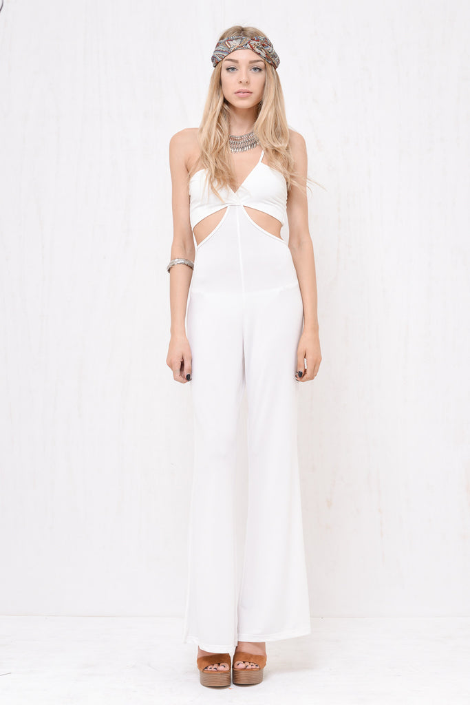 Swift Jumpsuit White - Morrisday | The Label - 8
