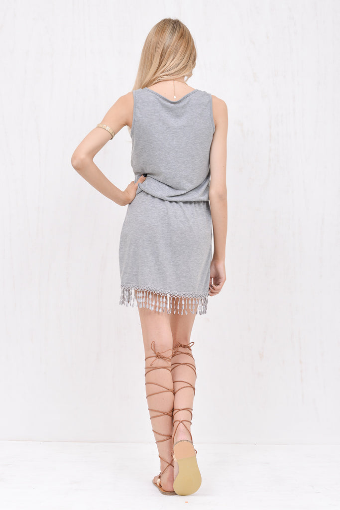Wanderlust Dress Grey - Morrisday | The Label - 5