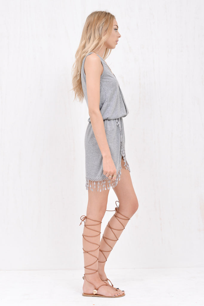 Wanderlust Dress Grey - Morrisday | The Label - 3