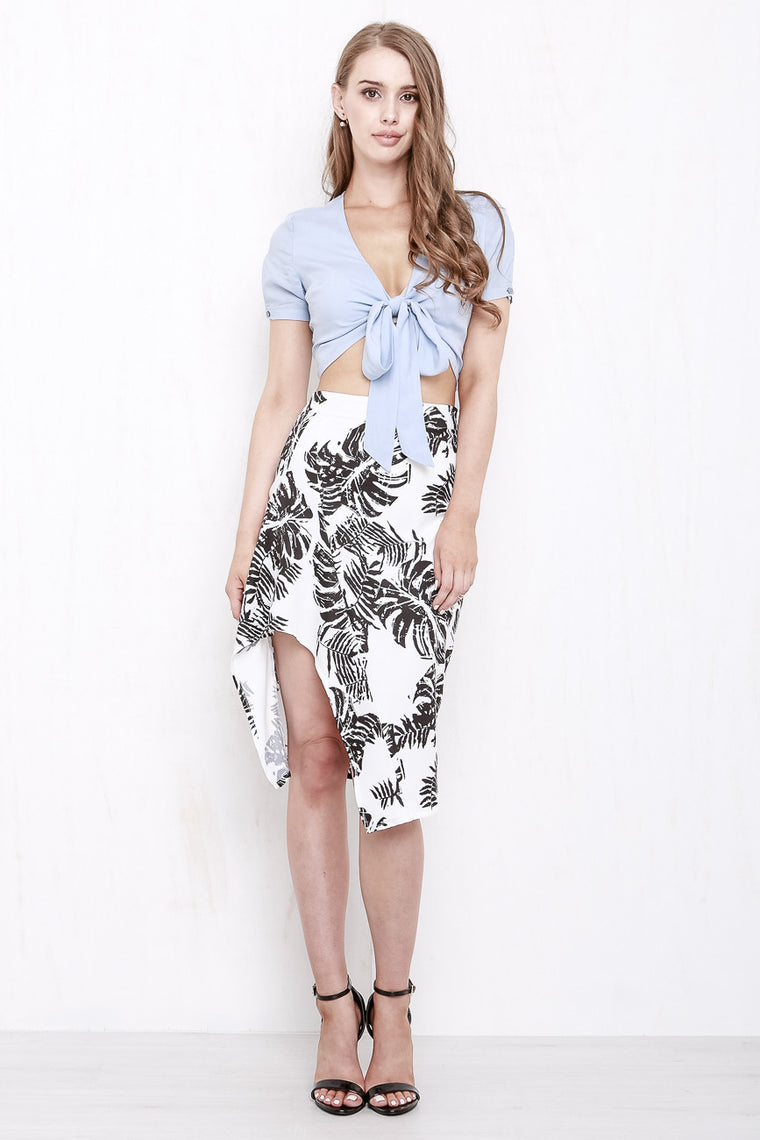 Paradise Skirt Black and White - Morrisday | The Label - 1