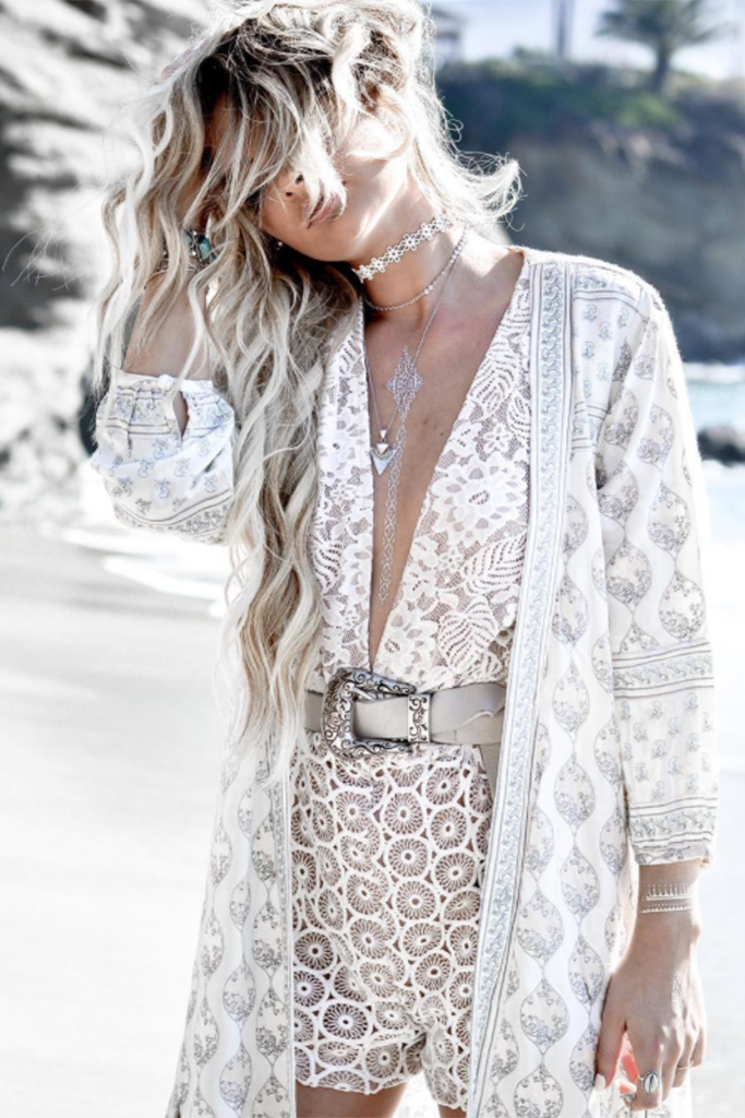 Bella Lace Playsuit White - Morrisday | The Label - 2