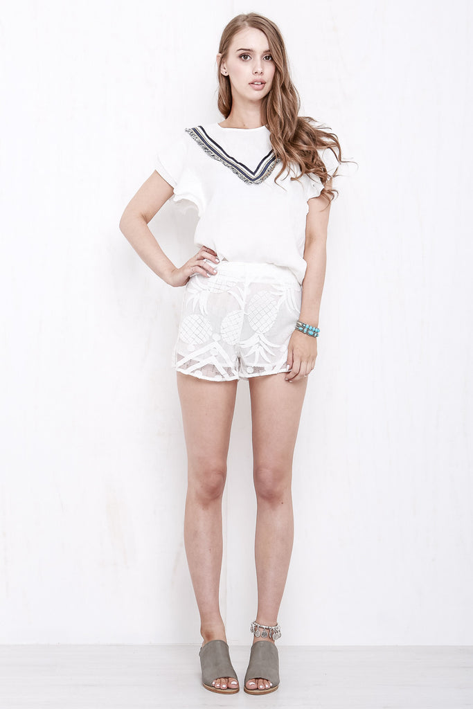 Tropicana Lace Shorts - Morrisday | The Label - 1