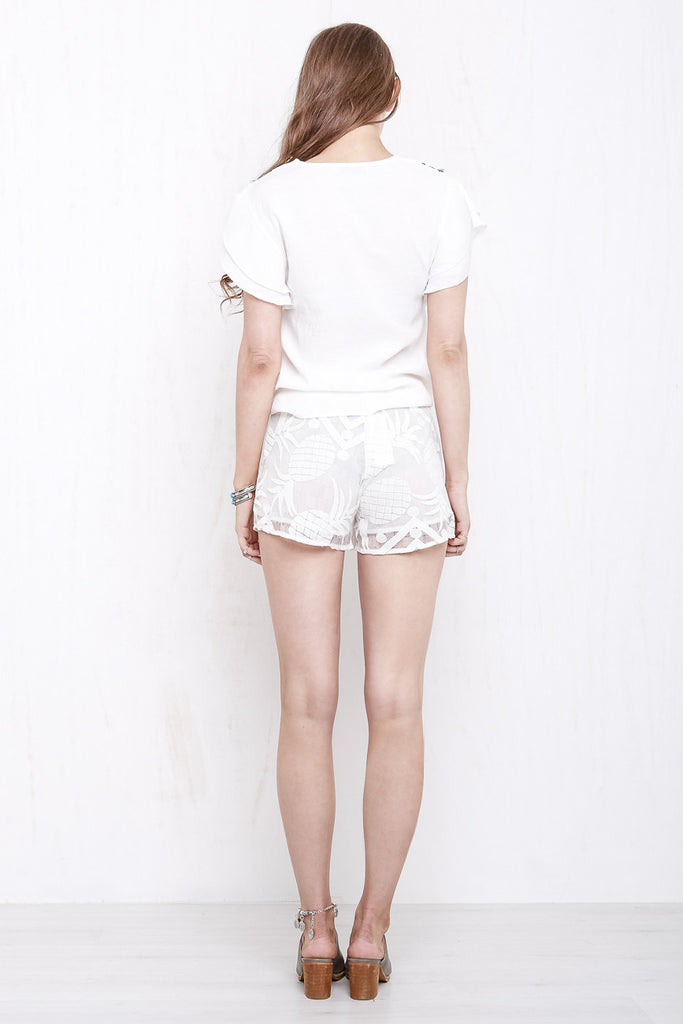 Tropicana Lace Shorts - Morrisday | The Label - 4