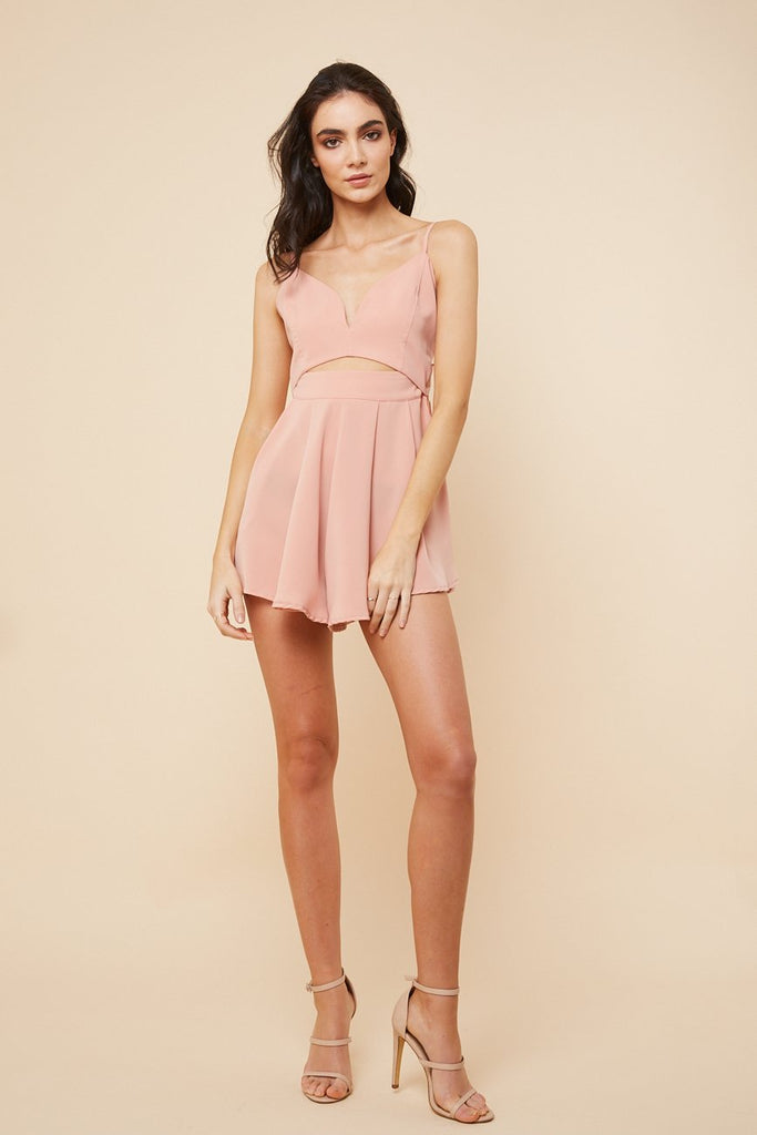 Midnight Playsuit Nude