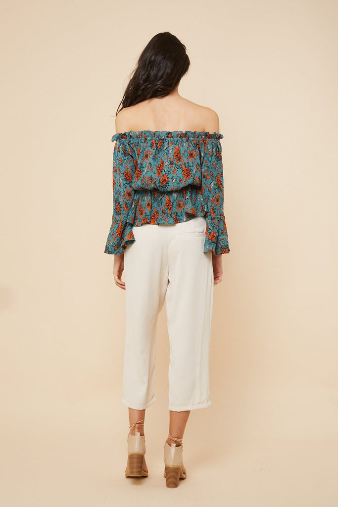 Jungle Fever Off Shoulder Top