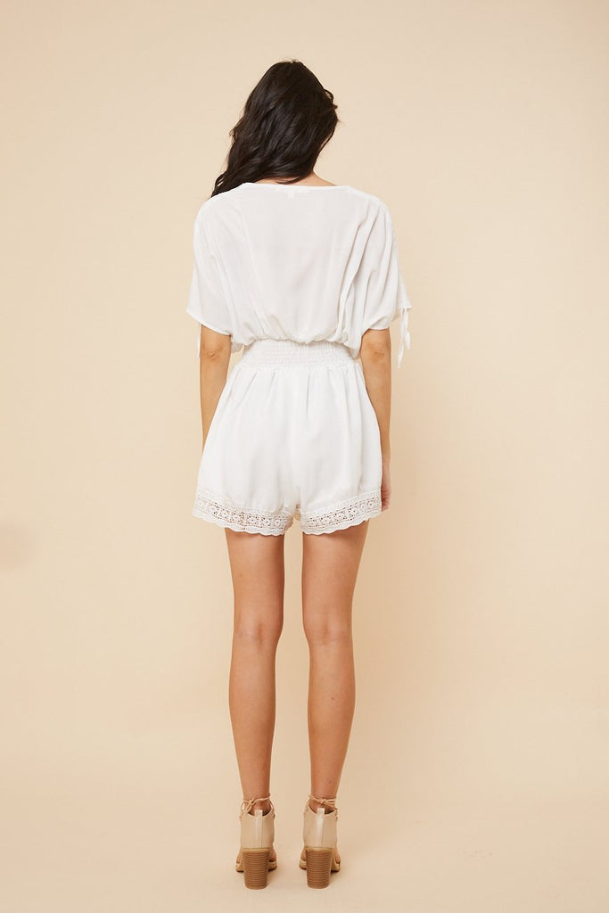 Sweet Lucy Playsuit White