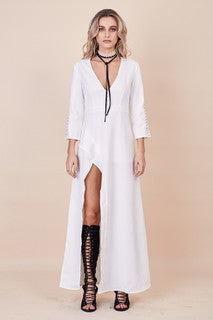Lovers Lane Dress White