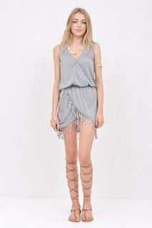 Wanderlust Dress Grey
