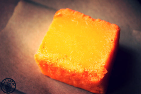 Orange burfi - Delhish Indian sweets mithai