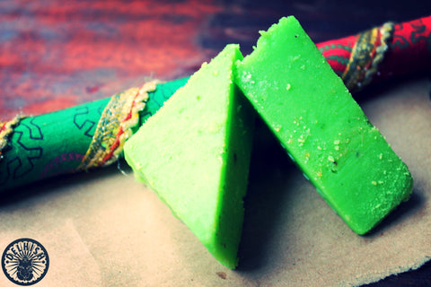 Pistachio burfi - Delhish Indian sweets mithai - 1