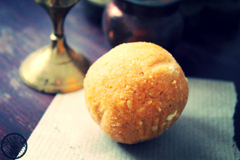 Besan ladoo - Delhish Indian sweets mithai - 1