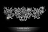 Beatrice Romantic Deco Hair Comb | Crystal - Beloved Sparkles